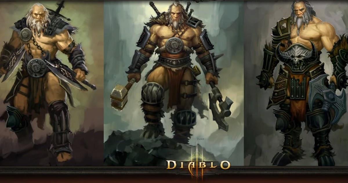 Diablo  Fun Barbarian Builds