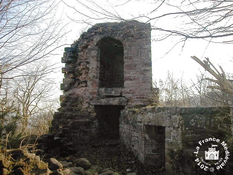HAEGEN (67) - Château du Petit Geroldseck