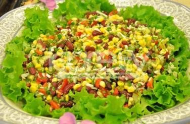 Oktay Usta Soya Filizli Meksika Salatası Tarifi Yeşil Elma