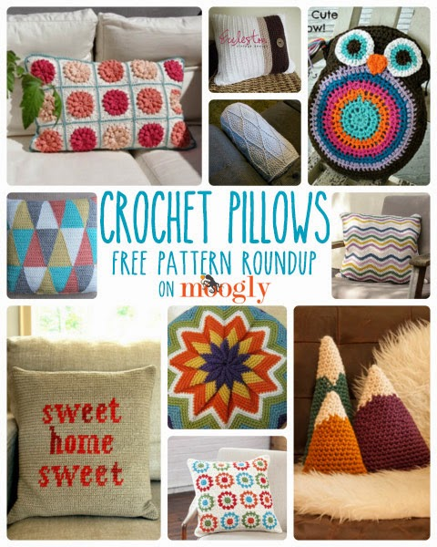 10 Crochet Pillow Patterns