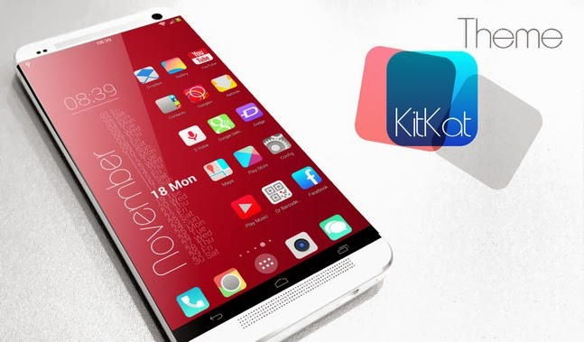 Download KitKat HD Launcher Theme 7 in1 Apk