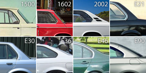 The Website Www.newmediacampaigns.com Put Together This Handy Image Which  Shows The Hofmeister Kink In Action On All BMW Compact Executive Cars Since  The ...