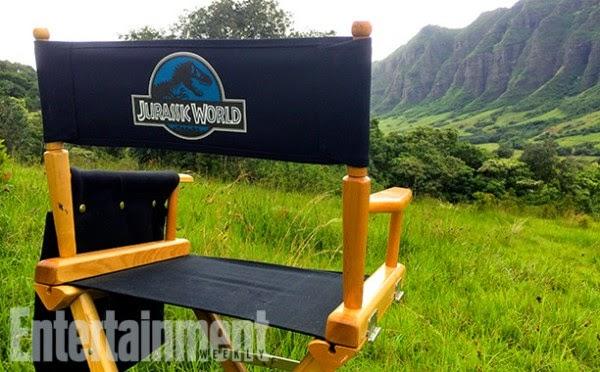 "Fotográfias del rodaje de ""Jurassic World"""