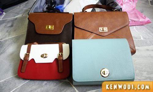 korea souvenir handbag