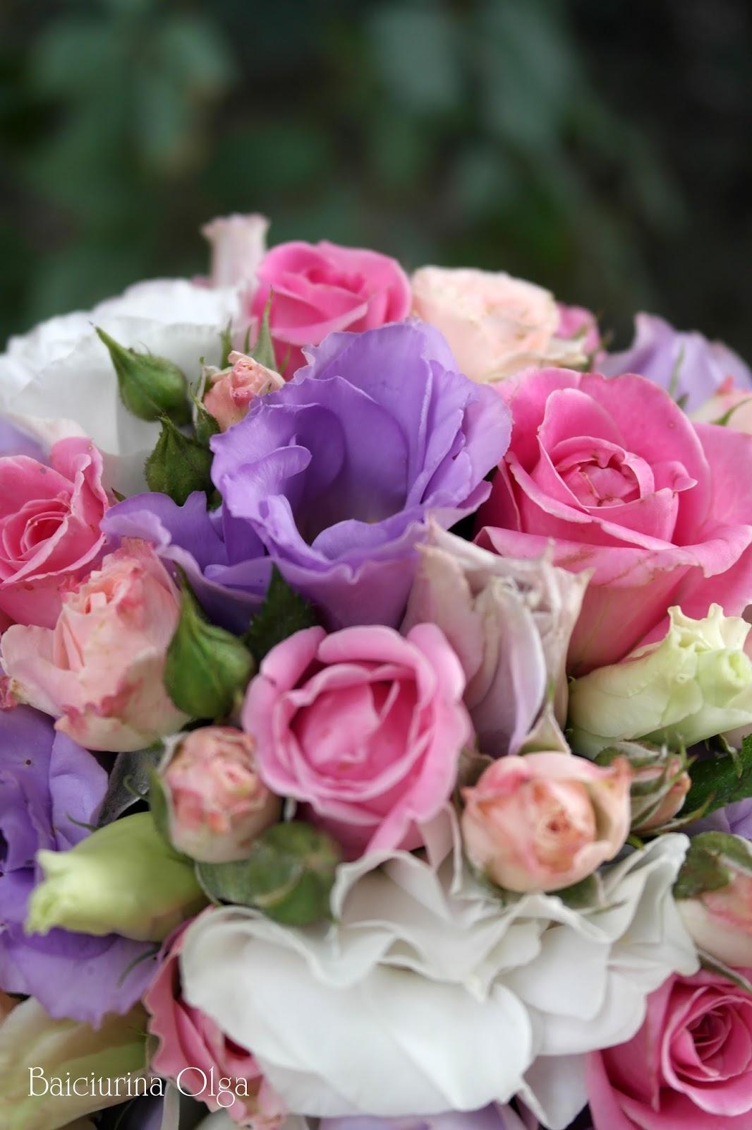 Сиренево розовые цветы 90