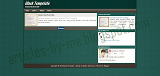 Download Tempelate HTML5 Responsive Sederhana SEO Friendly