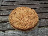 Jablecny koláč se skořicovo-oříškovou drobenkou