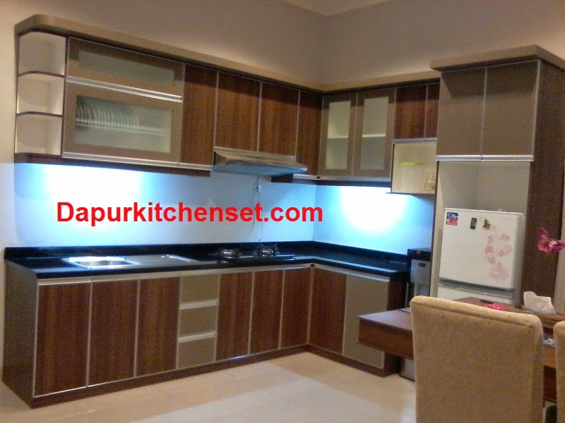 Galery dapur kitchen set jasa kitchen set murah for Full set kitchen