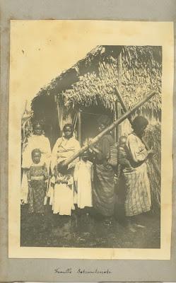Photographie ancienne Betsimitsaraka, Sainte-Marie Madagascar