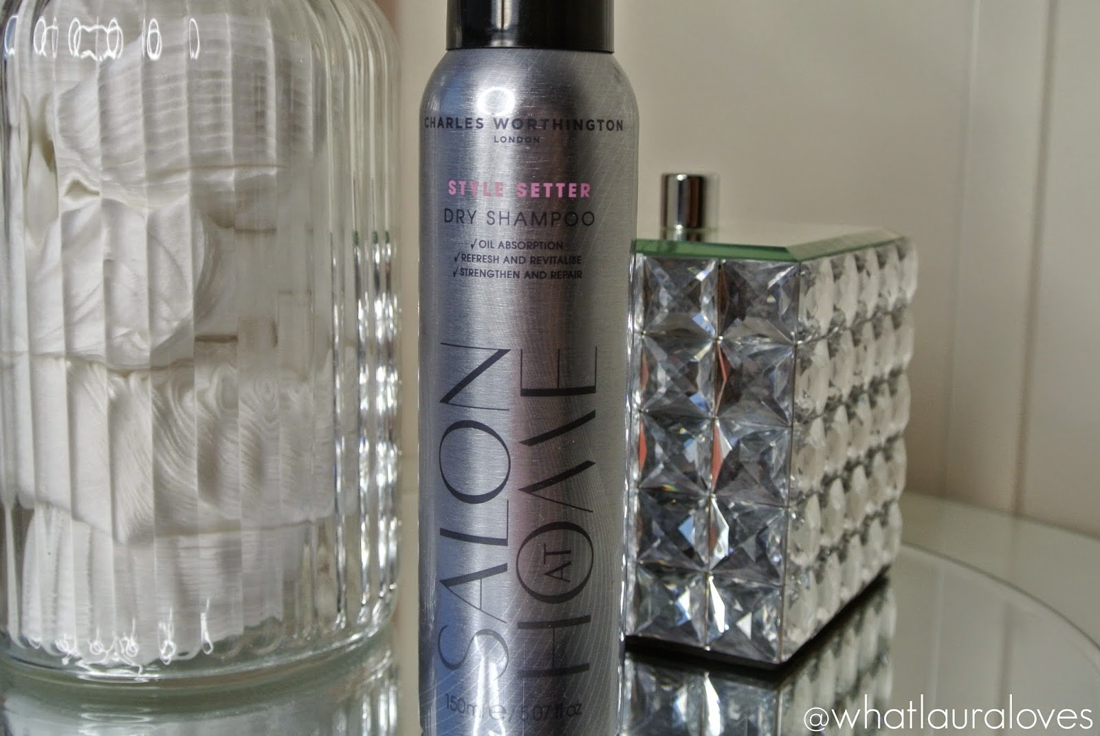 Charles Worthington Salon At Home Style Setter Dry Shampoo Review