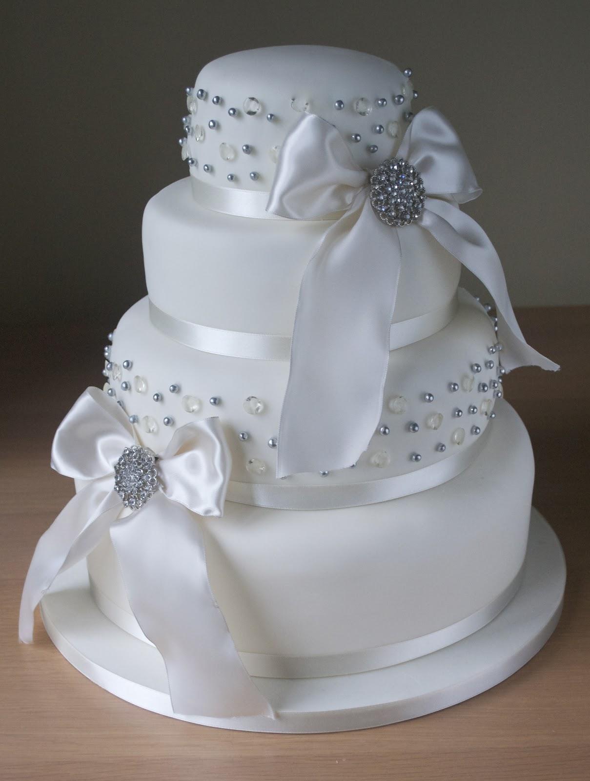 Edible Diamond Cake Ribbon