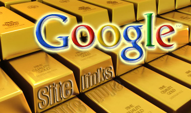 golden google sitelinks