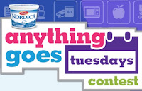 image Giveaway banner Nordica Cottage Cheese Tuesdays Anything Goes