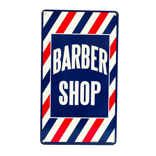 Barber Parlor : ... barber shop barber shop vintage metal sign vintage barber shop sign