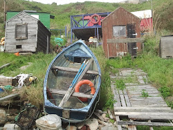 Fishermen's boat and bothy