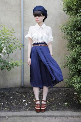 Vintage Short Sleeve Blouse