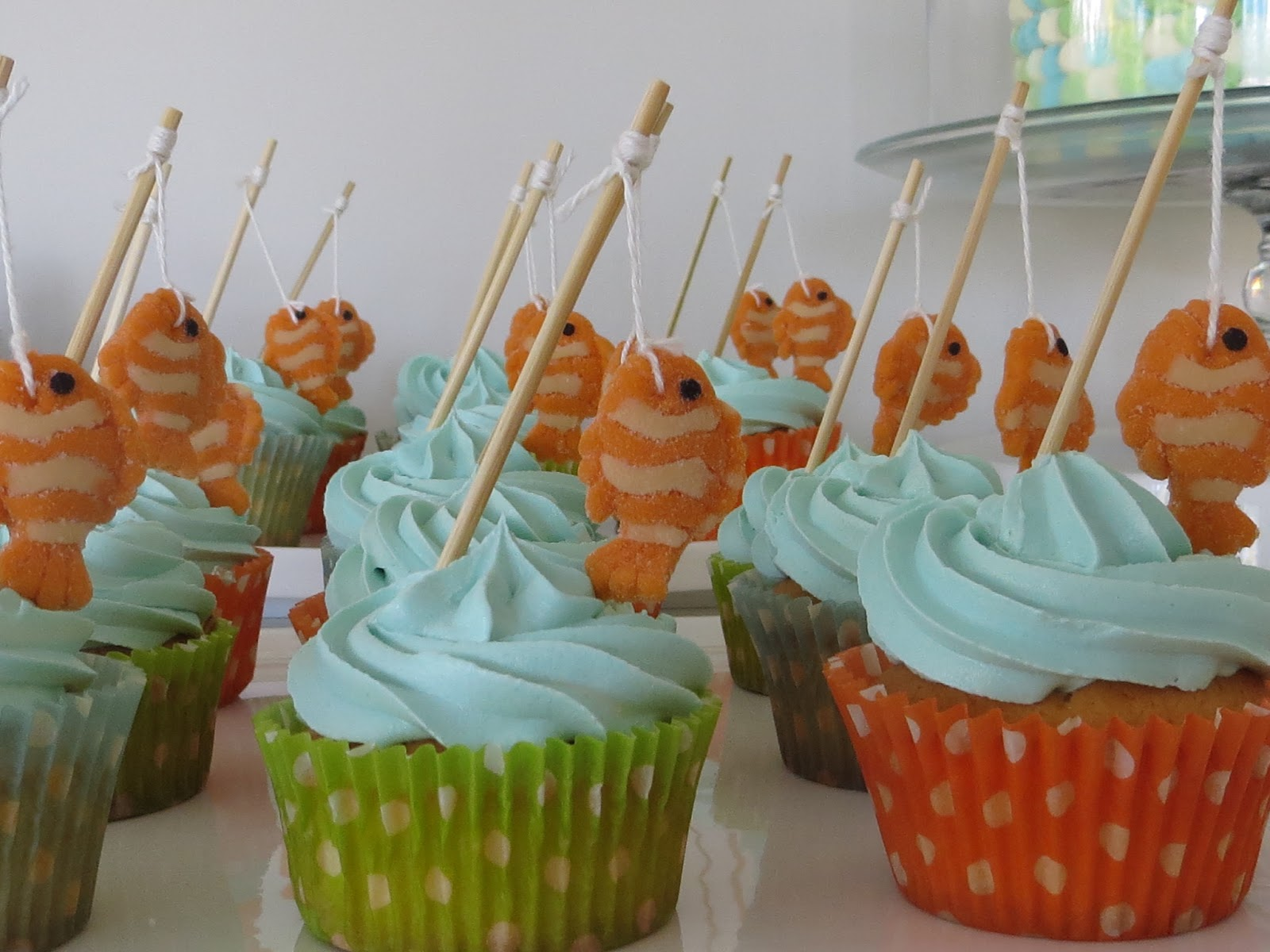Max me fishy cake for Fishing themed baby shower