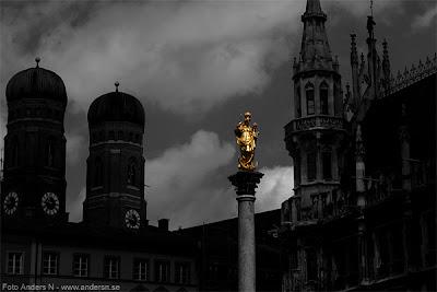 Munich, München, tyskland, germany, deutschland, marienplatz, mariensaüle
