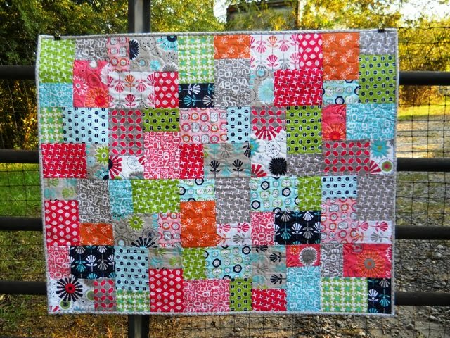 Sew and Sow Farm: A Gracie Girl Finish, 100 Quilts for Kids ... : double slice layer cake quilt tutorial - Adamdwight.com