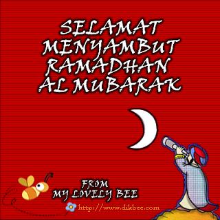 Ramadhan tiba lagi