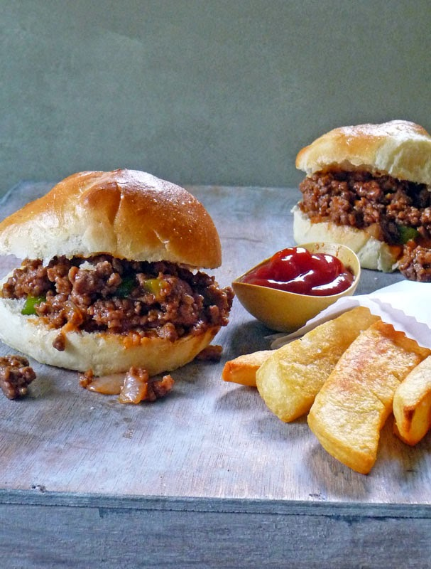 Homemade Sloppy Joe Sandwich | by Life Tastes Good is easy to make and will knock your socks off! You'll never buy canned Sloppy Joe's again! #Sandwich #Beef