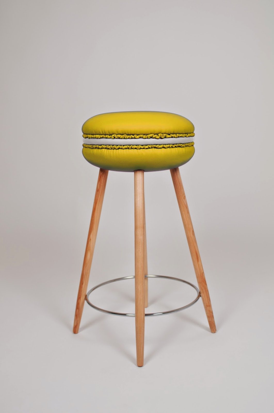Makastool by Li-Ving ispirati ai pasticcini francesi macaron molto richiesti per ambienti e locali fashion