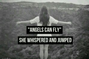 ANGELS CAN FLY.