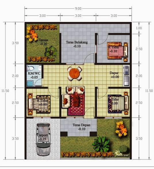 6 sketsa desain rumah minimalis terbaik untuk sahabat