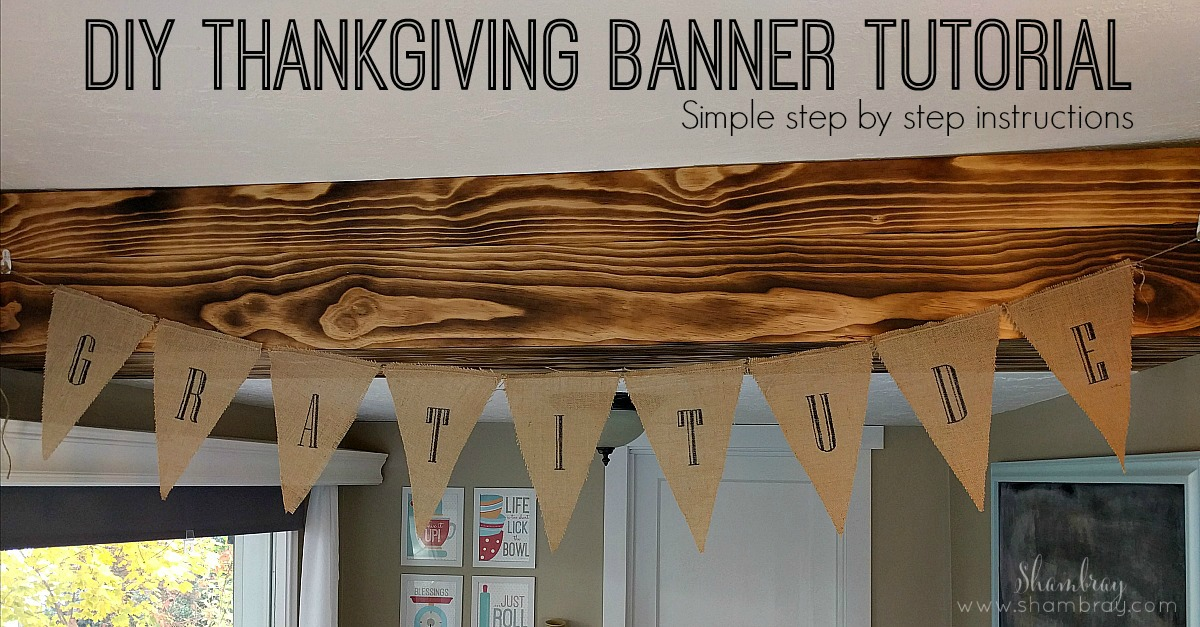 Shambray Gratitude Banner