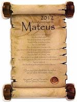Oração de Mateus