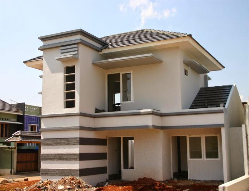 rumah minimalis terbaru 2 lantai