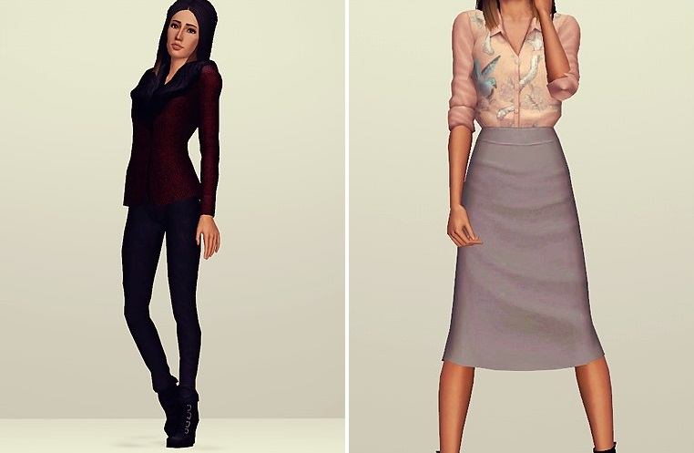 My Sims 3 Blog: Sentate SS13 Launch Collection