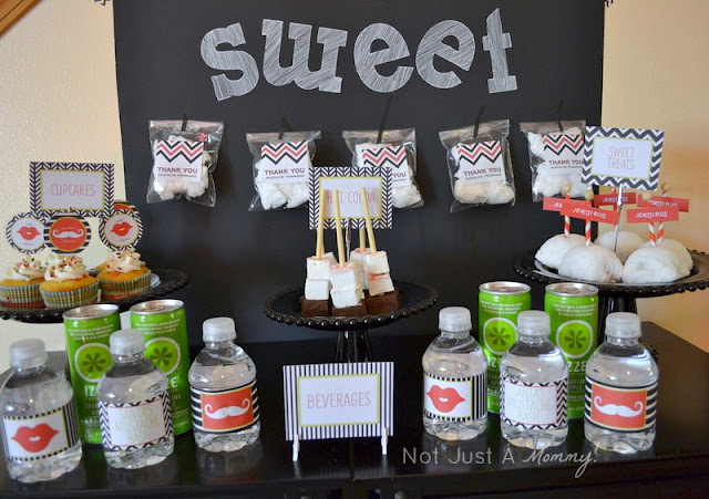 Mrs. Claus and Santa Bash! The delectable Dessert Table for the delectable bash! Featured on Design Dazzle!