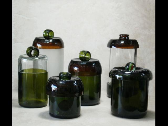 C mo hacer todo c mo cortar botellas de vidrio en forma for Cortar cristal para gatera