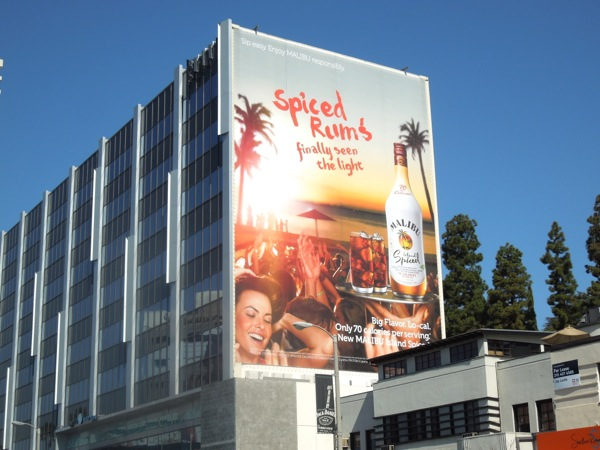 Giant Malibu Island Spiced billboard