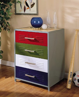 Powell Teen Trends 4-Drawer Dresser, Image