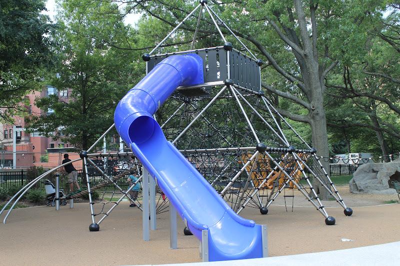 Biggest Backyard Playground : Playground Hopping Biggest Playground Slides in Boston, Stoughton