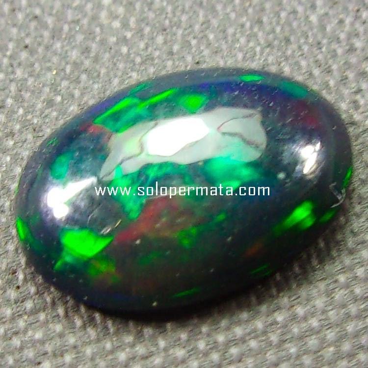 Batu Permata Black Opal Kalimaya - SP048