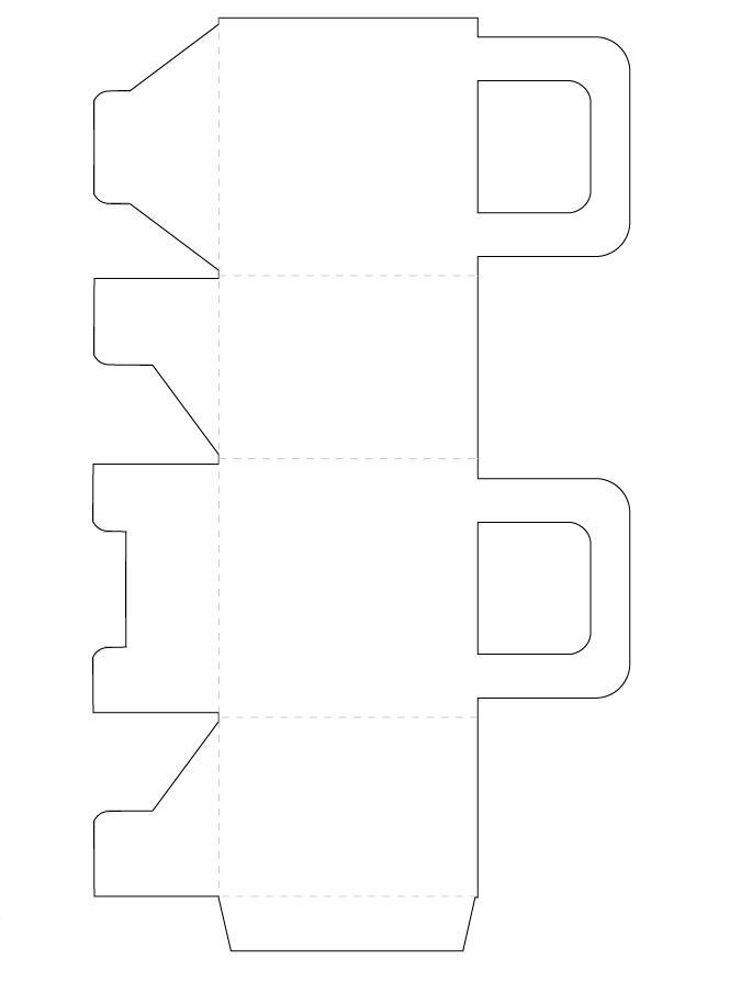 Para empezar imprime el siguiente molde: