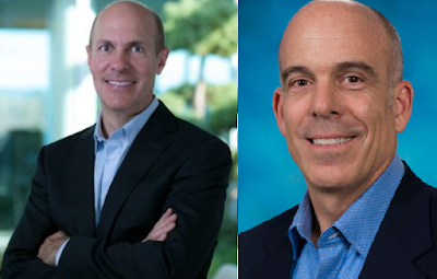 Scott Moffitt Doug Bowser Nintendo of America photo comparison executive vice president of sales