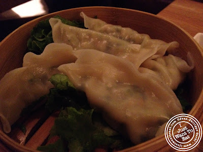 Image of Vegetable dumplings at Chapas Vietnamese eatery in NYC, New York