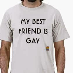 Frase: Amigo gay