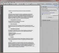صورة من داخل برنامج Adobe Reader