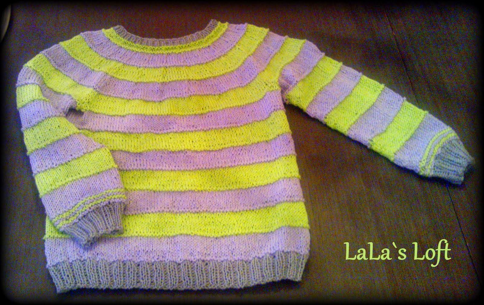 strikkegenser gutt oppskrift