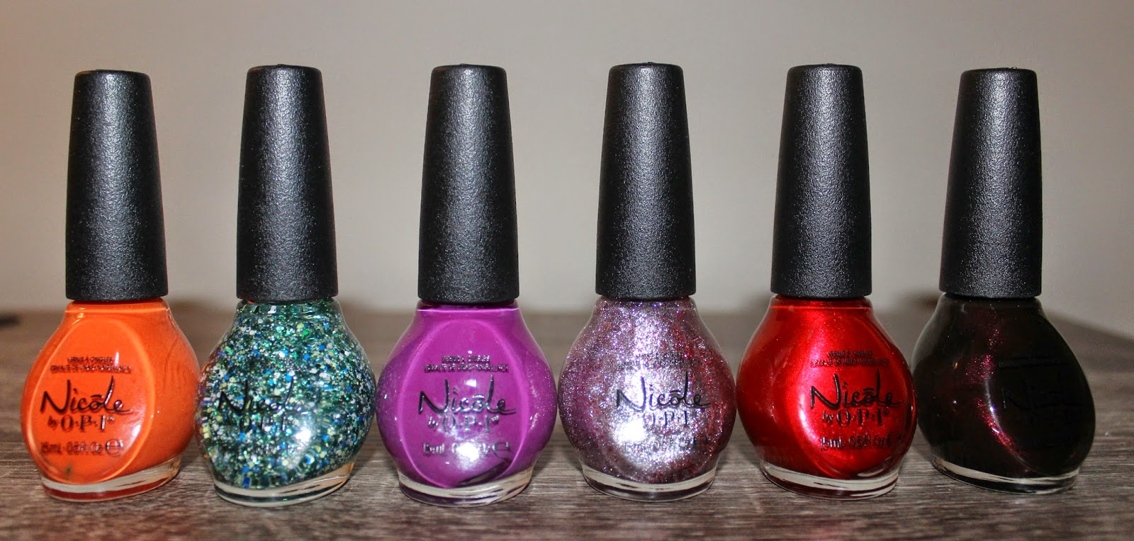 Nicole by OPI Coca Cola Nail Lacquers‏