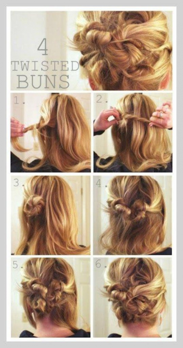 doing your own easy hair styles