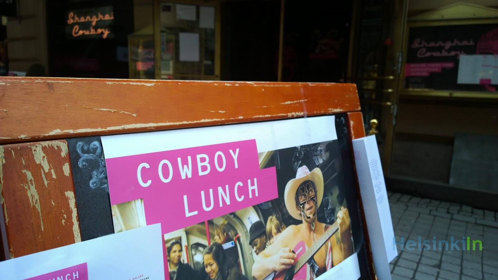 Cowboy Lunch