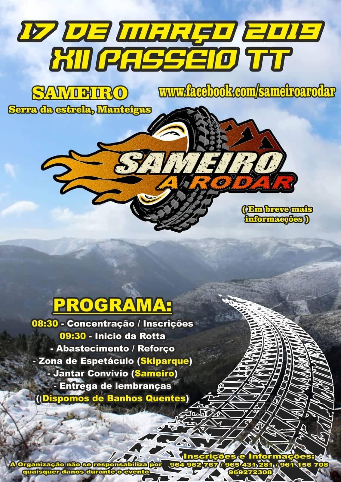 XII Passeio TT - Sameiro a Rodar