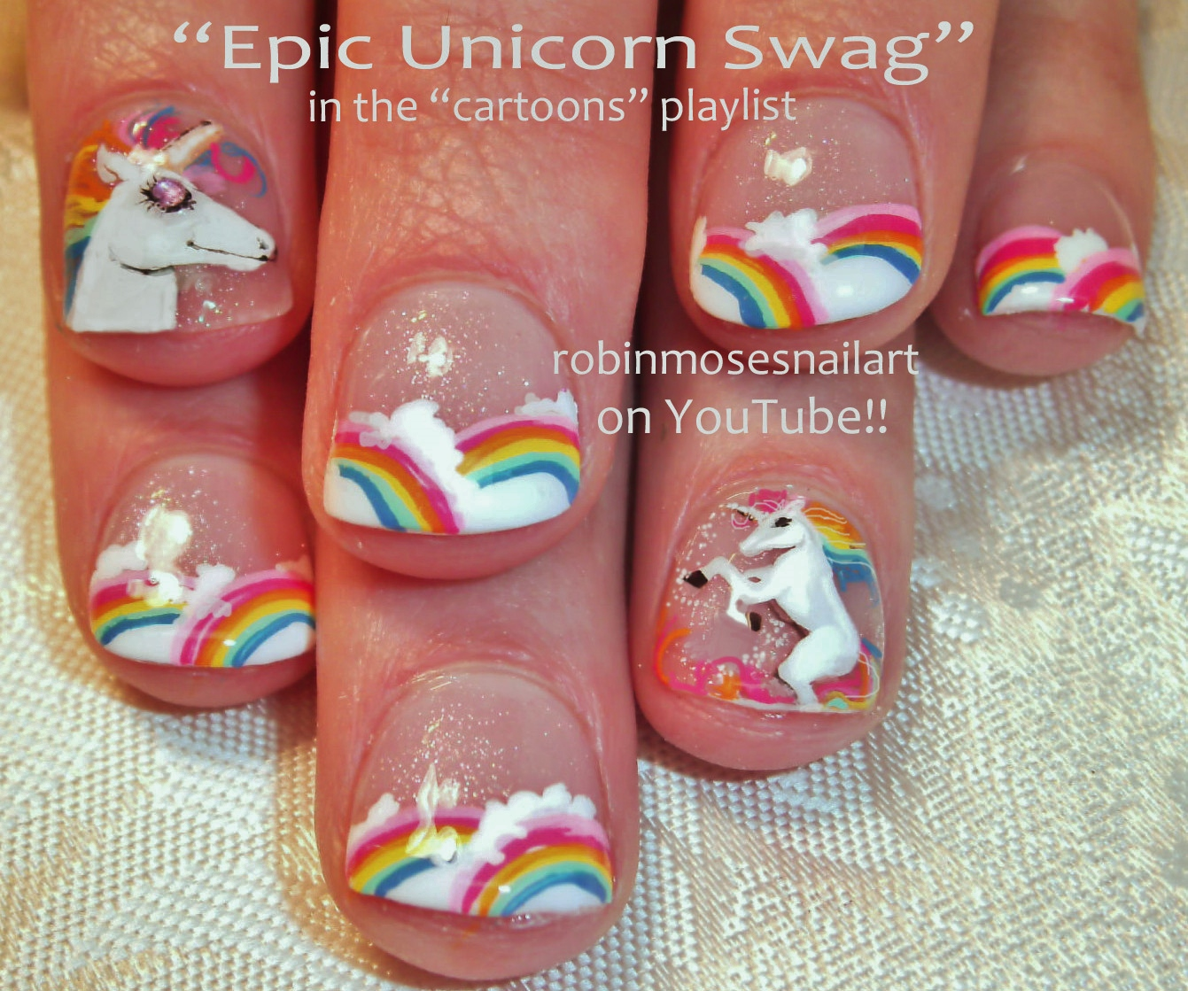 Robin moses nail art october 2015 cartoon nail art playlist disney nails logos for nails animal nails how to paint faces princess nails prinsesfo Gallery