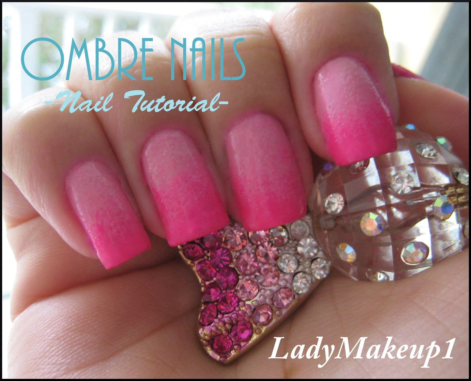 Ombre Nails Tutorial HD Wallpaper
